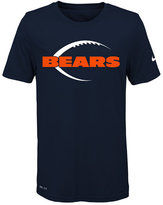 Nike Nfl Legend Chicago Bears T-Shirt, Little Boys(4-7)