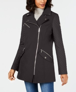Michael Kors Michael Asymmetrical Raincoat