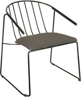 Zanui Outdoor Lounge Chairs Deltona Outdoor Lounge Chair, Black
