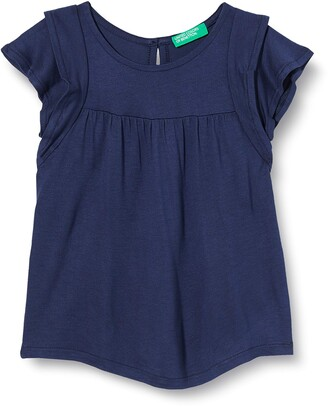 Benetton Baby Girls' Maglia M/m Kniited Tank Top