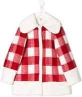 Piccola Ludo checked coat