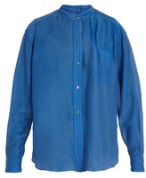 Etoile Isabel Marant Lixy cotton and silk-blend shirt