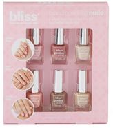 Bliss Brand Spanking Nude 6-pc. Mini Nail Polish Collection Gift Set