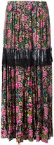 No.21 floral print maxi skirt - women - Cotton - 40