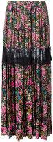 No.21 floral print maxi skirt