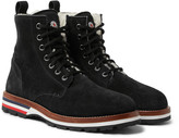Moncler - New Vancouver Shearling-lined Suede Boots