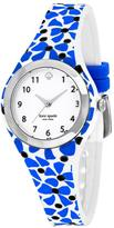 Kate Spade Rumsey KSW1087 Women's Blue Silicone and Stainless Steel Watch