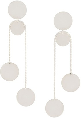 Saskia Diez Plate Drop Earrings
