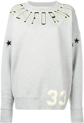 Faith Connexion Oversized Printed Sweatshirt