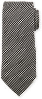 Tom Ford Iridescent Houndstooth-Print Silk Tie