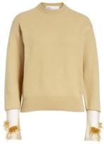 Toga Women's Beaded Cuff Sweater