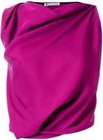 Maticevski draped sleeveless dress