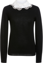 Temperley London Bliss Collar Jumper