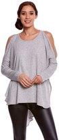 Jala Clothing Cold Shoulder Poncho 8156594