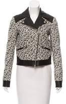 Thakoon Long Sleeve Leather Jacket