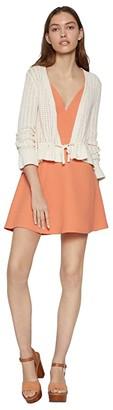 BCBGeneration Long Sleeve Cardigan Sweater TVB4267535 (Gardenia) Women's Clothing