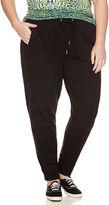 Liz Claiborne Knit Jogger Pants Plus
