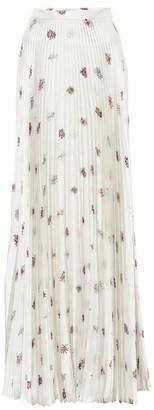 Gabriela Hearst Blight floral silk maxi skirt