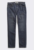 Tommy Hilfiger Adaptive Seated Fit Jeans Adjustable Waist Magnet Buttons (Dark Wash) Men's Jeans