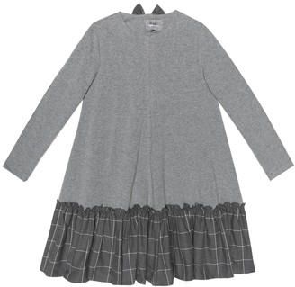 Il Gufo Stretch-cotton jersey dress