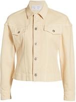 Proenza Schouler White Label Washed Denim Jacket
