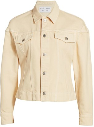 Proenza Schouler White Label Washed Denim Jacket