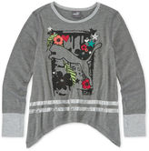 Puma Long-Sleeve Cat Top - Preschool Girls 4-6x