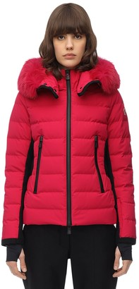 MONCLER GRENOBLE Lamoura Toile Bi-Stretch Down Jacket
