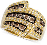 LeVian Le Vian Chocolate Diamonds® Wrap Ring (1 ct. t.w.) in 14k Gold