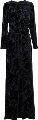 Max Mara Blue Viscose Dress