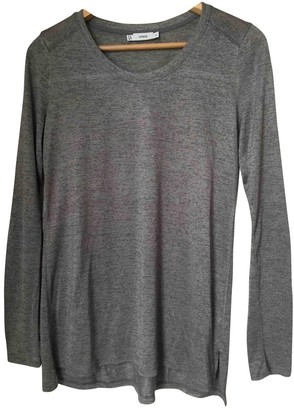 Vince Grey Cotton Top for Women