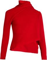 Marques Almeida MARQUES'ALMEIDA Asymmetric roll-neck wool sweater