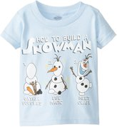 Disney Frozen Little Boys' Olaf - How To Build A Snowman Tee
