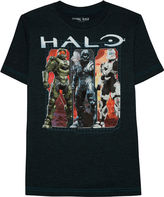 Halo Short Sleeve Crew Neck T-Shirt-Big Kid Boys