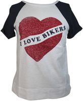 Zoe Karssen i Love Bikers Peacot T-shirt