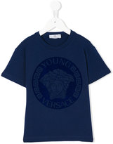 Versace Medusa logo T-shirt - kids - Cotton/Spandex/Elastane - 4 yrs