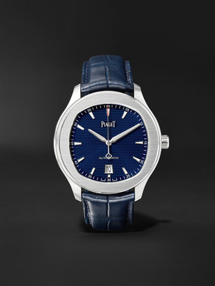 Piaget Polo S Automatic 42mm Stainless Steel And Alligator Watch, Ref. No. G0a43001