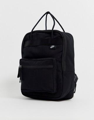 Nike black boxy mini backpack