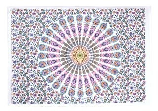 Oussum Boho Mandala Printed Multi-Color Poster Wall Hanging Decor Tapestry Throw Bedspread
