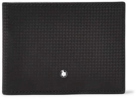Montblanc Westside Extreme Textured-Leather Billfold Wallet - Black