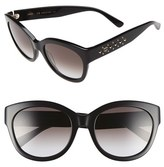 MCM Women's 56Mm Retro Sunglasses - Black