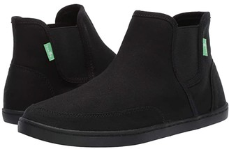 Sanuk Pair O Dice Mid (Black) Women's Boots