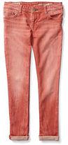Ralph Lauren Girls 2-6x Jemma Cotton Blend Five-Pocket Denim Pants