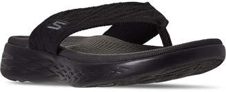 Skechers Women On The Go 600 Sunny Athletic Flip Flop Thong Sandals from Finish Line