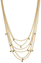 Kenneth Cole New York Black Diamond Multi-Strand Necklace