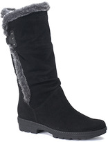Aquatalia by Marvin K Kenzie - Black Suede Tall Boot