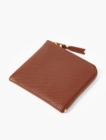 Comme Des Garcons Wallet Brown Luxury Leather Coin Wallet