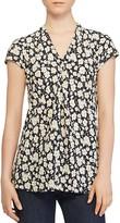 Lauren Ralph Lauren Floral Print Cap-Sleeve Top