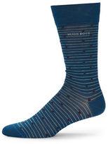 HUGO BOSS Mixed Pattern Dress Sock