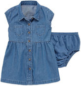 Arizona Short SleeveShirt Dress - Baby Girls